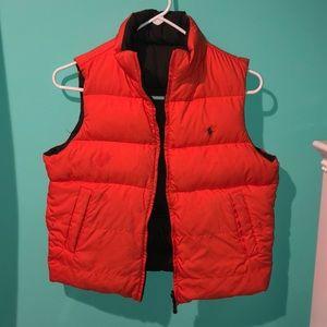 Ralph Lauren reversible puffer vest size 9/10